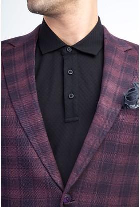 Kiğılı Erkek Desenli Ceket