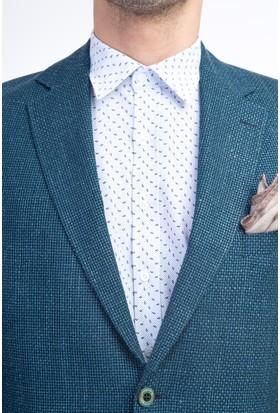 Kiğılı Erkek İtalyan Kuşgözü Ceket