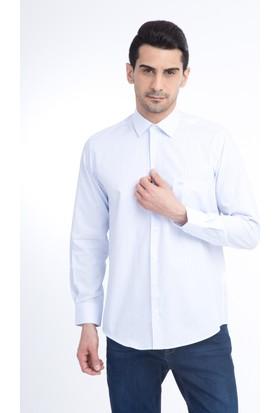 Kiğılı Erkek Uzun Kol Çizgili Klasik Gömlek