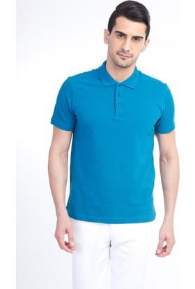Kiğılı Erkek Polo Yaka Düz Slim Fit T-Shirt