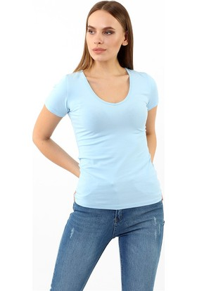 ZDN Jeans Kadın Bebe Mavi Tshirt R926