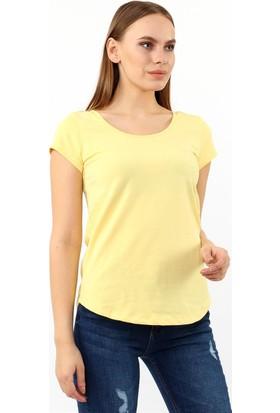 ZDN Jeans Kadın Sarı Tshirt R922