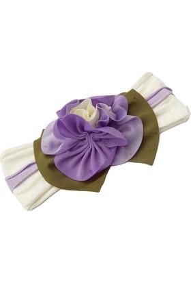 Babygiz Çiçek Aksesuarlı Bandana Nba024