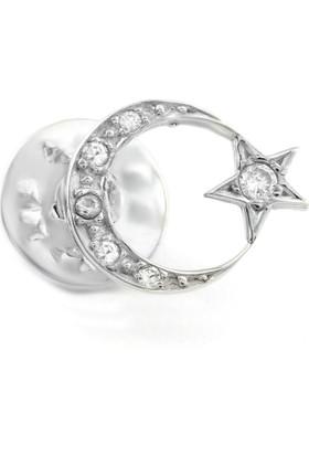 Hepsi Ay Yıldız Gümüş Rozet 1000500