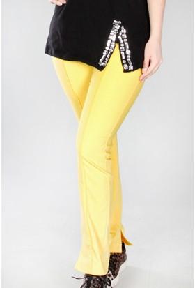 Pinkmark Kadın Sarı Pantolon
