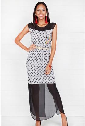 Pinkmark Kadın Gri Elbise