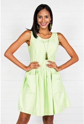 Pinkmark Kadın Yeşil Elbise