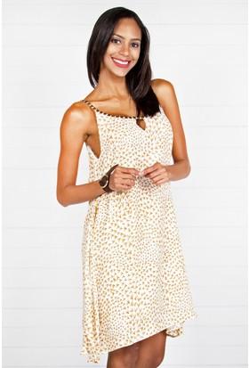 Pinkmark Kadın Kahverengi Elbise