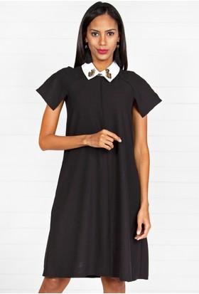 Pinkmark Kadın Siyah Elbise