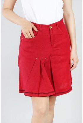 Pinkmark Kadın Kırmızı Etek