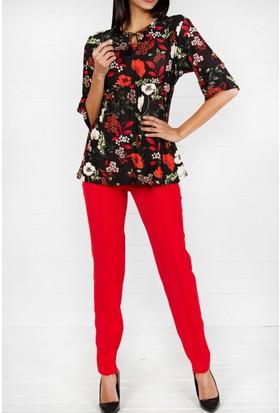 Pinkmark Kadın Kırmızı Pantolon