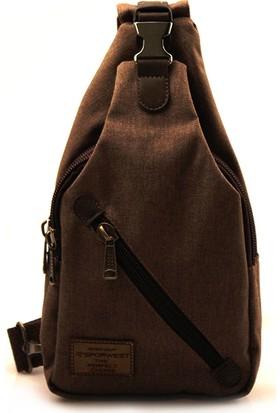 Sporwest Unisex Haki Küçük Sırt Çantası Body Bag SPWST002HK