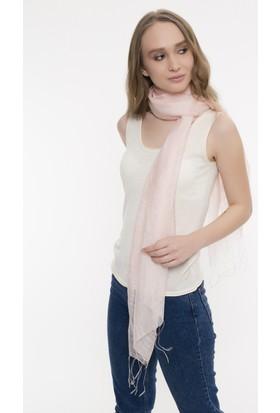 Silk And Cashmere Kadın İpek Italy Düz Fular