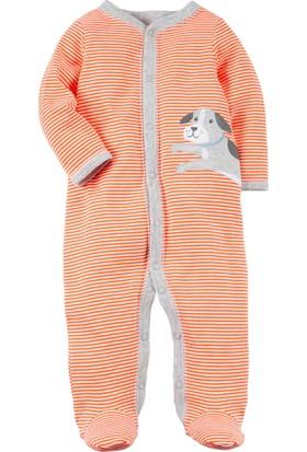 Carter's Erkek Bebek Tulum-Snp 115G459