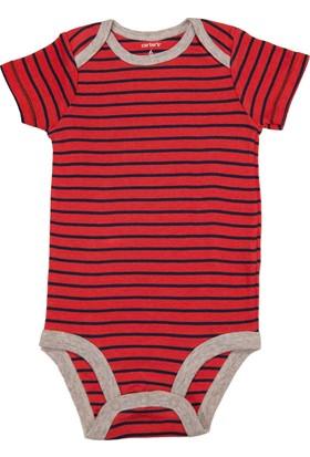 Carter's Layette Erkek Bebek Body Body-126G697-Kırmızı