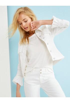 Koton Fahriye Evcen For Koton Jeans Ceket