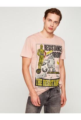 Koton Lisanslı Star Wars Baskılı T-Shirt
