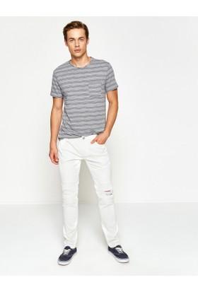 Koton Yırtık Detaylı Pantolon