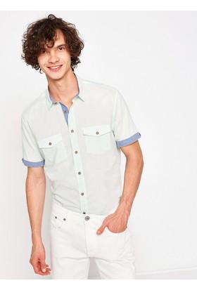 Koton Cep Detaylı Gömlek