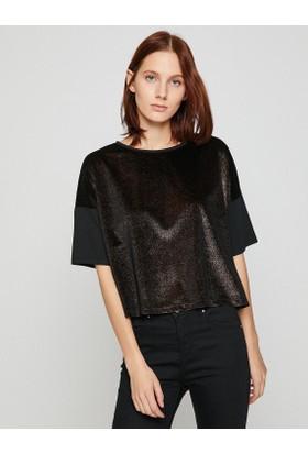 Koton Sim Detaylı T-Shirt