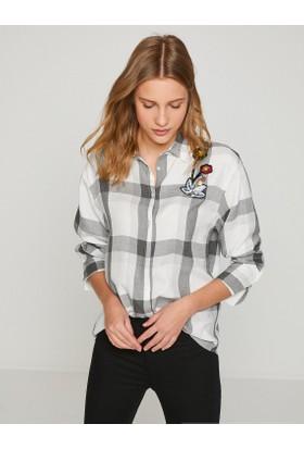 Koton İşlemeli Gömlek