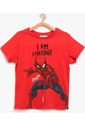 Koton Spiderman Baskılı T-Shirt