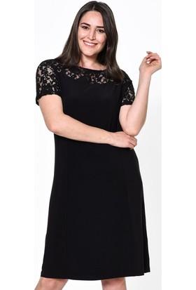 Lir Kadın Elbise 46 Siyah