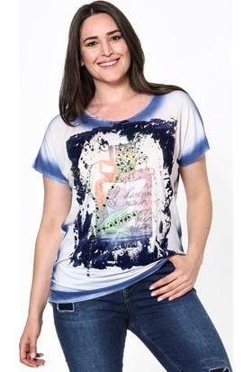 Lir Kadın Bluz 42 Desenli
