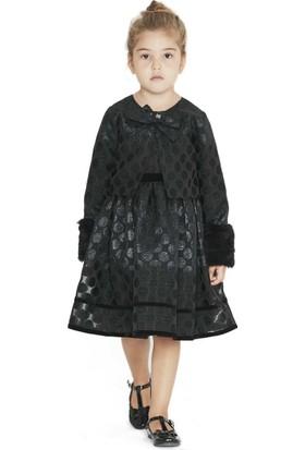 Goose Kız Çocuk Sim Puanlı Elbise Ceket Takım