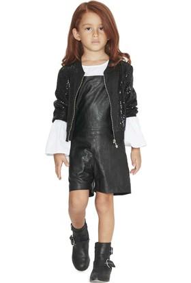 Goose Kız Çocuk Payetli Ceket