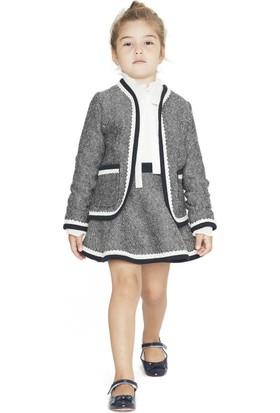 Goose Kız Çocuk Fisto Garnili Biyeli Ceket