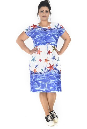 Tepa Kadın Denizyıldızı Bağcıklı Elbise