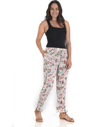 Tepa Kadın Ebru Çiçekli Summer Pantolon