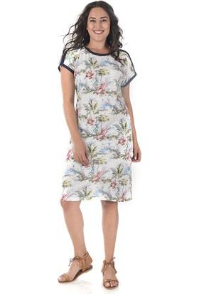 Tepa Kadın Ekru Biyeli Summer Elbise