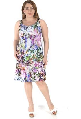 Tepa Kadın Gökkuşağı Perry Elbise