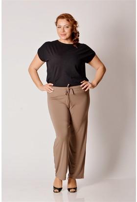 Tepa Kadın Kahve Sandy Büyük Beden Pantolon