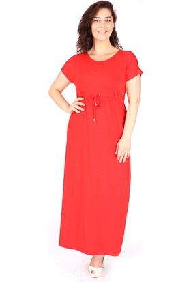 Tepa Kadın Kırmızı Uzun Elbise