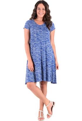 Tepa Kadın Lacivert Dalmaçya Elbise
