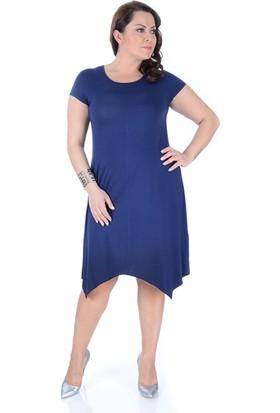 Tepa Kadın Lacivert Verevli Elbise