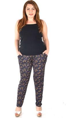 Tepa Kadın Mor Betty Şalvar Pantolon