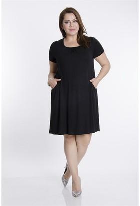 Tepa Kadın Siyah Momy Elbise