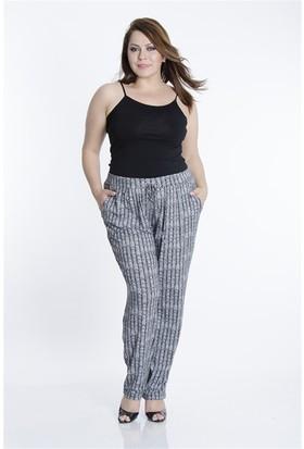 Tepa Kadın Siyah Spencer Şalvar Pantolon