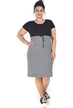 Tepa Kadın Siyah Style Elbise