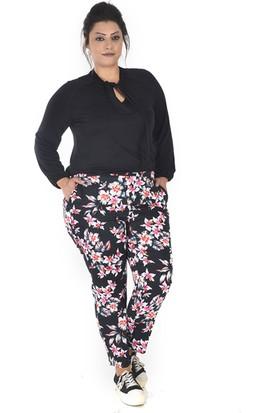 Tepa Kadın Siyah Yıldız Summer Pantolon