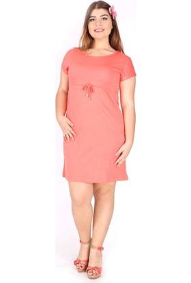 Tepa Kadın Somon Plaj Elbise