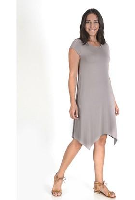Tepa Kadın Vizon Verevli Elbise