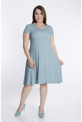 Tepa Kadın Yeşil Grace Elbise