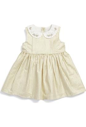 Mamas & Papas Foil Stripe Elbise