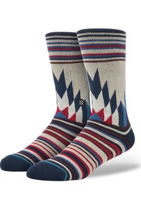 Stance Blue Toledo Erkek Çorap