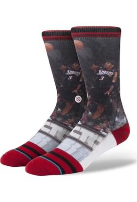 Stance Nba Legends Allen İverson Erkek Çorap